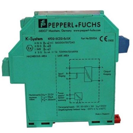 Pepperl+Fuchs KFD2-SCD-EX1.LK SMART Current Drivers KFD2-SCD-Ex1.LK Safety Barriers In Stock