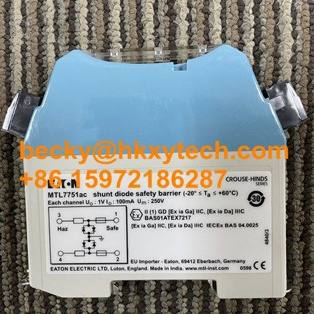 MTL7751ac MTL7755ac Shunt Diode Safety Barrier MTL7751ac Barriers Brand Original New Made in India In Stock